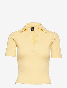 Klara top - t-shirts - golden haze (2169)