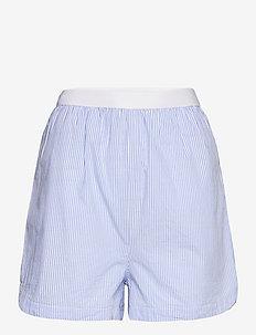 Pj shorts - shorts - lt blue/stripe (5212)
