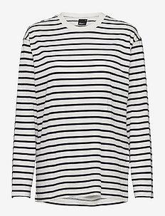 Lilo top - hauts à manches longues - navy/stripe