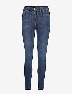 Molly highwaist jeans - DK BLUE G
