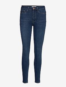 Molly highwaist jeans - dżinsy skinny fit - dk blue h