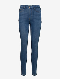 Molly highwaist jeans - MID BLUE F