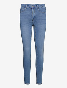 Molly highwaist jeans - skinny jeans - midblue g (5545)