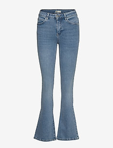 Natasha bootcut jeans - utsvängda jeans - sky blue