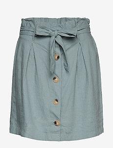 Nora linen skirt - SAGE BLUE