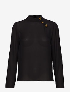 Paulina blouse - BLACK