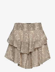 Ry chiffon skirt - SNAKEPRINT AOP