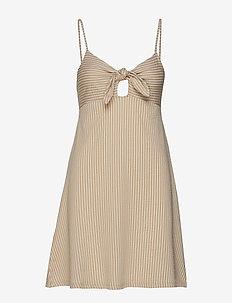 Rosita dress - BEIGE/STRIPE
