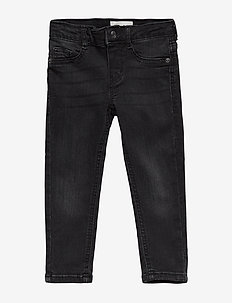 Mini molly jeans - BLACK/GREY