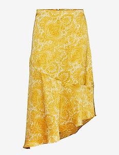 Isla skirt - YELLOW PAISLEY