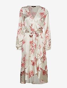 Hanna wrap dress - ROMANTIC FLORAL