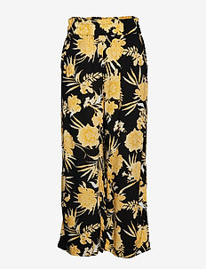 Disa culotte trousers - PALE YELLOW FLO