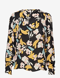 Maja blouse - COLLAGE FLOWER