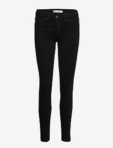 Bonnie low waist jeans - BLACK