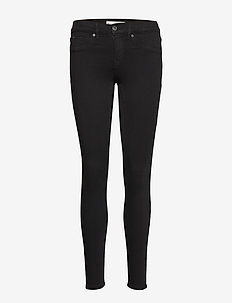Bonnie low waist jeans - BLACK
