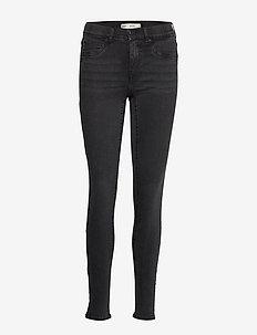 Bonnie low waist jeans - BLACK/GREY