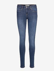 Bonnie low waist jeans - DK BLUE G