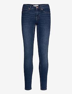 Bonnie low waist jeans - skinny jeans - dk blue h (5003)