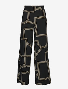 Jenna trousers - LINES AOP