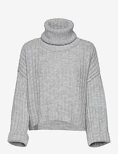 Amalia knitted sweater - GREY MELANGE