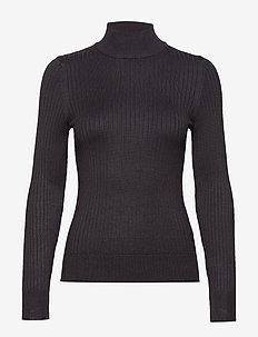 Julia knitted sweater - BLACK
