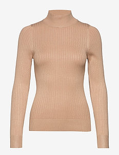 Julia knitted sweater - NEW CAMEL