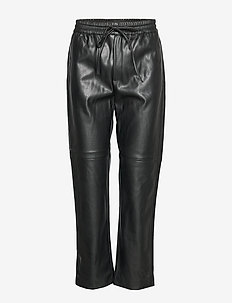 Johanna pu trousers - BLACK