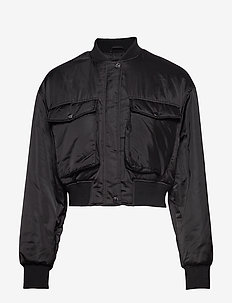 Stina bomber jacket - BLACK