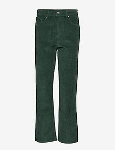 Gabby corduroy trousers - TREKKING GREEN