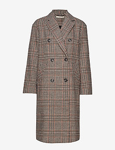 Cilla coat - CHECK
