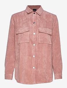 Cory corduroy shirt - BURLWOOD