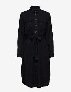Caroline utility dress - BLACK