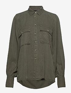 Carol utility shirt - GUNNER GREEN
