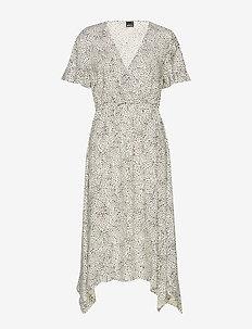 Satina dress - LIGHT/LEO
