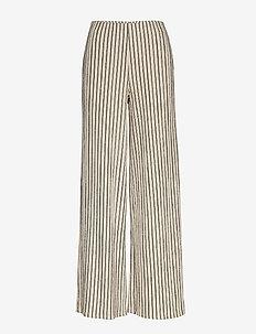 Elin trousers - BEIGE/STRIPE