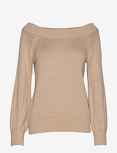 Angin knitted sweater - NEW CAMEL