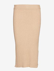 Lovisa knitted skirt - NEW CAMEL