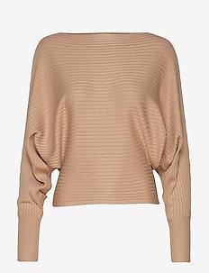 Lovisa knitted sweater - NEW CAMEL