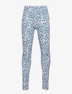 Mini leggings - leo blue (5533)