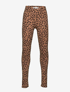 Mini leggings - TAN/LEO