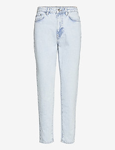 Dagny mom jeans - mom jeans - bleached blue (5029)