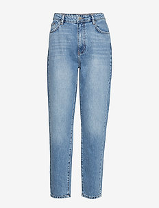 Dagny mom jeans - MID BLUE