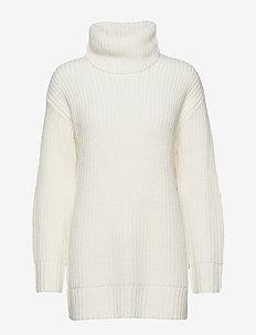 Hera knitted tunic - OFFWHITE