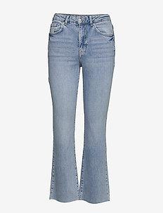 Ylva kick flare jeans - LT BLUE