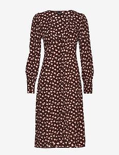 Moa dress - PINK FLORALS