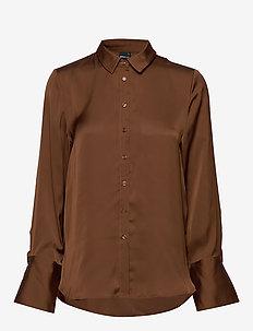 Linnea satin shirt - PARTRIDGE