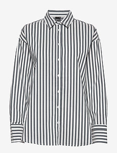 Missy shirt - long-sleeved shirts - black/white str