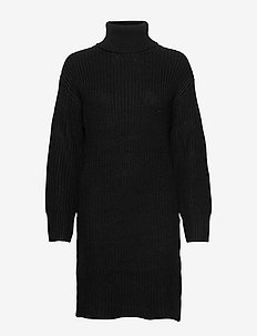 Sonya knitted tunic - BLACK