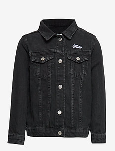 Mini denim jacket - OFFBLACK