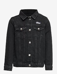 Mini denim jacket - OFFBLACK